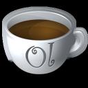 onlocation, coffee icon