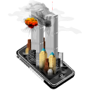 smartphone, apple, new york, cell phone, mobile phone, attack, iphone, teorist, twin towers icon