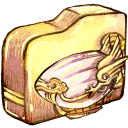 folder, airship icon
