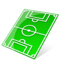Socccer field icon