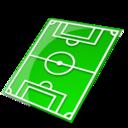 Socccer field icon