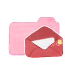 mail, folder, ak, candy icon