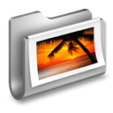 Folder, Metal, Photos icon