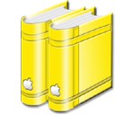 libraryyellow icon