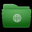 globe,folder icon