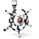 network, robot icon