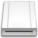 optical, drive icon