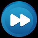Button, Fast, Forward icon