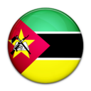 flag,mozambique,country icon