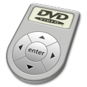dvd, disc, player icon