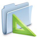 badged, folder, project icon