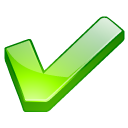 ok, good, check, check mark, accept, checkmark, green, yes icon