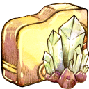 folder, crystal icon