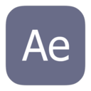 metroui,adobe,aftereffects icon