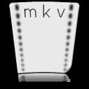 file,mkv,paper icon