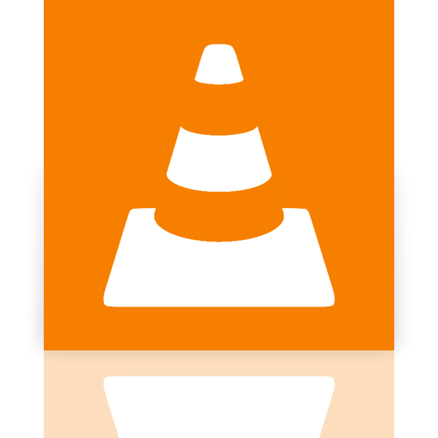 player, mirror, media, vlc icon