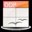 application, oasis, presentation, open document icon