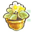 flowerpot, flower icon
