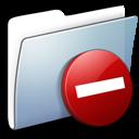 smooth, folder, private, graphite icon