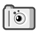 photography, and, camera, scanner icon