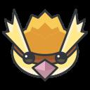 go, play, pokemon, pidgey, game icon