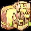 folder,castle icon