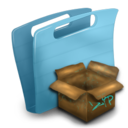 folder,pack,package icon