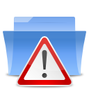 Alert, Auto, Folder, Important icon