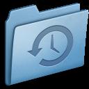 Blue Backup icon
