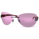 chanel,pink,glasses icon