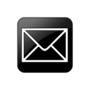 0997, mail, square icon