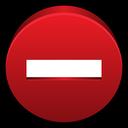 private, lock, clear, block, delete, l icon