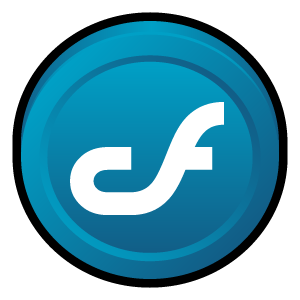 badge, coldfusion, macromedia icon