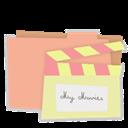 Carton, Folder, Movies icon