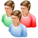 users, group icon