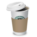 coffee, starbucks, cup icon