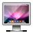 Aurora, Glossy, Leopard, Screen icon