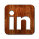 logo, linkedin, square icon