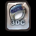 3DC icon