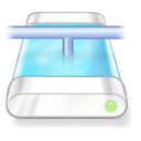 drive blue network icon