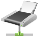 connected, netprinter icon