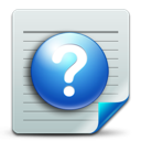 help, document icon