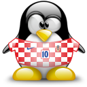 croatia, animal, penguin icon