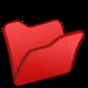 folder,red icon