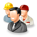 people, users, testimonials, gente, workers, office, group icon