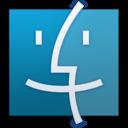 finder,blue icon