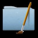 Folder Blue Art icon