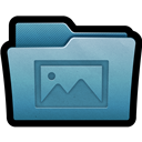 Folder, Mac, Photos icon