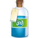 Bottle, Stumbleupon icon