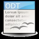 opendocument text icon